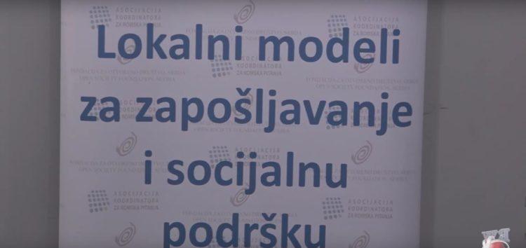 Lokalni modeli za zapošljavanje i socijalnu podršku