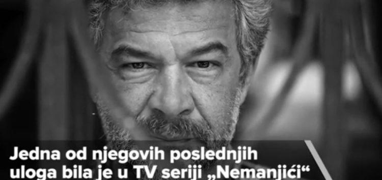 Preminuo glumac Nebojša Glogovac