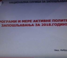 Subvencije za zapošljavanje NSZZ u 2018.g.
