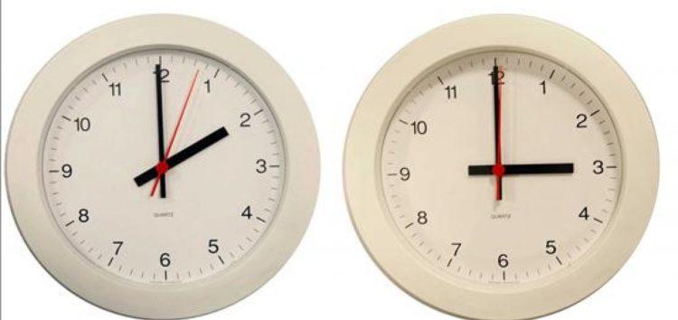 Od danas letnje računanje vremena
